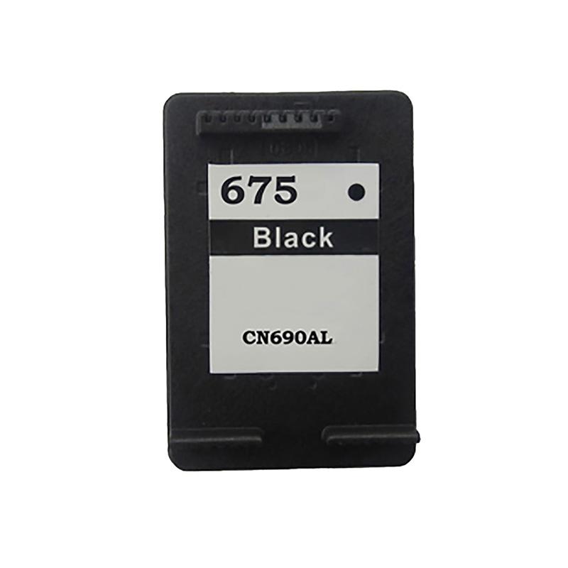 Compativel: Cartucho de tinta novasupri para HP 675 CN690A Preto OfficeJet 4000 4400 4575