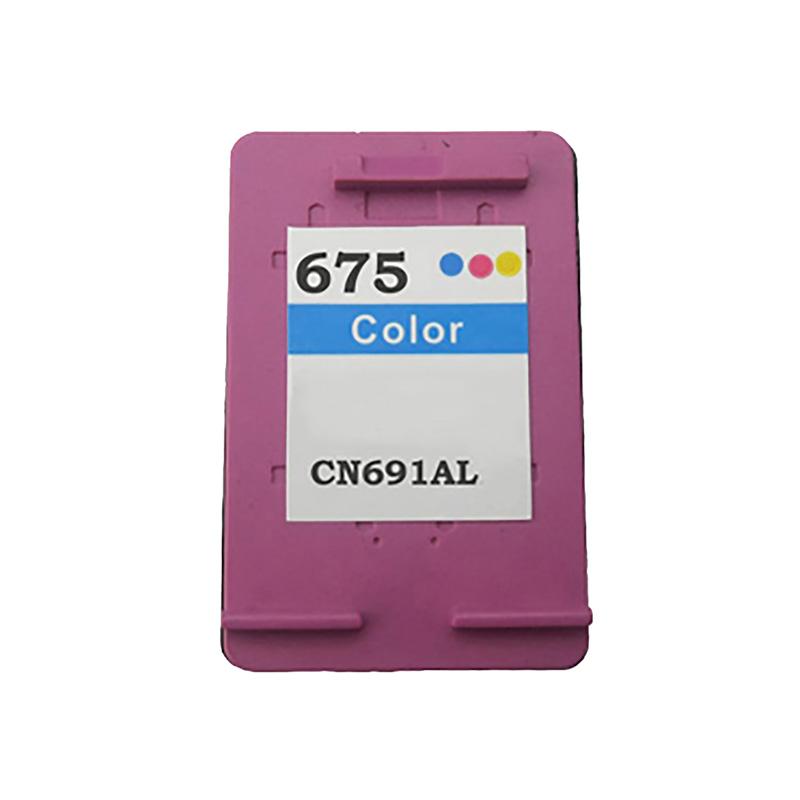 Compativel: Cartucho de tinta novasupri para HP 675 CN691A Colorido - OfficeJet 4000 4400 4575