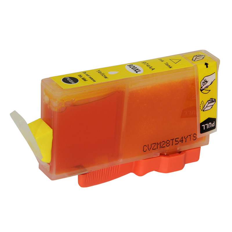 Compativel: Cartucho de tinta novasupri para HP 920XL CD974A 13ML Amarelo - Officejet 6000 6500 E709C E709 7500A