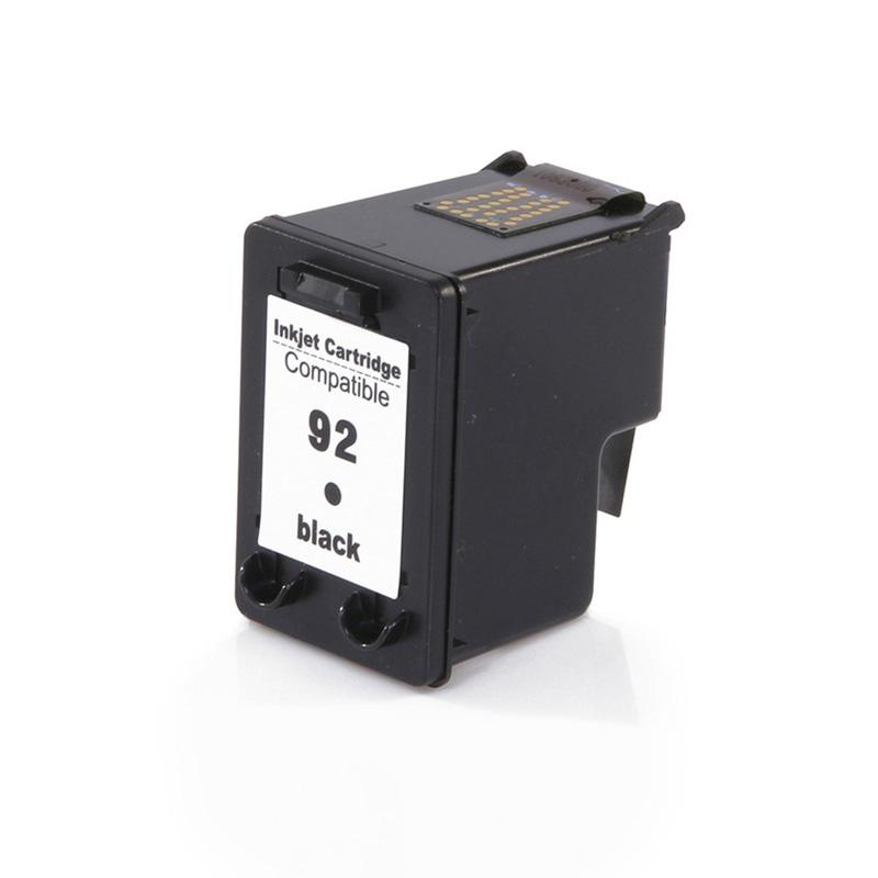 Compativel: Cartucho de tinta novasupri para HP 92 C9362W 15ML Preto - Photosmart C3140 C3150 C3180