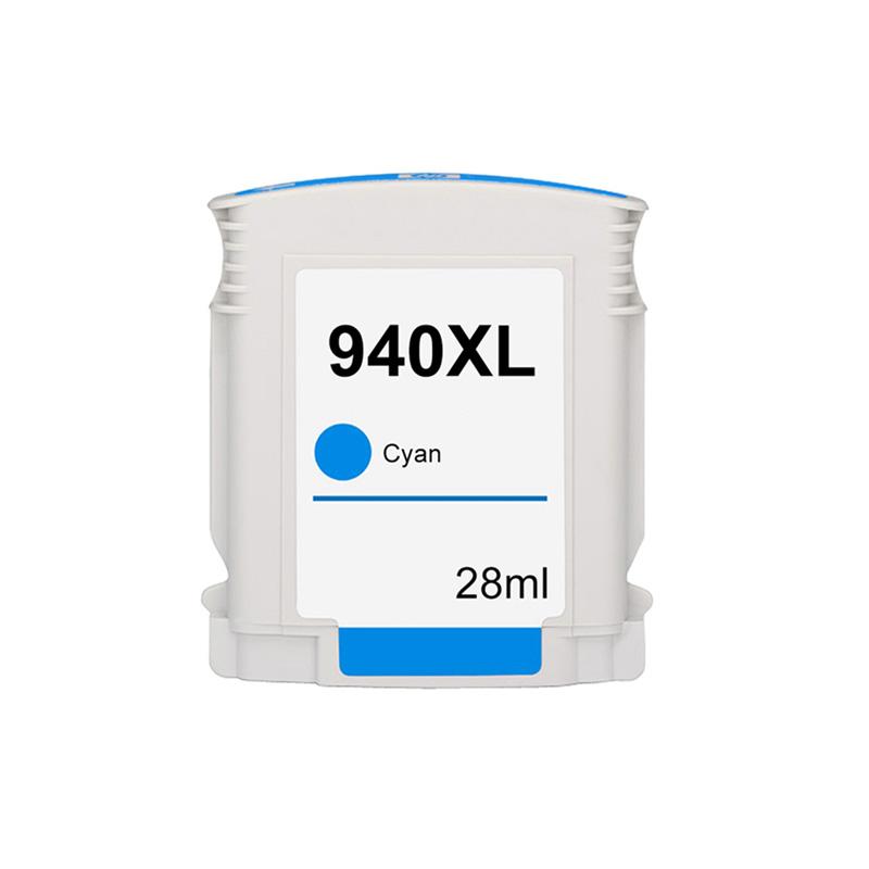 Compativel: Cartucho novasupri Tinta 940XL 940 para HP C4907AL C4907AB Ciano 8500 8000 8000WL 8500W 28ml