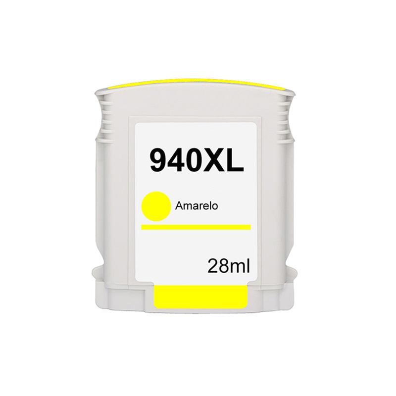 Compativel: Cartucho novasupri Tinta 940XL 940 para HP C4909AL Amarelo 8500 8000 8500W 8000WL 28ml