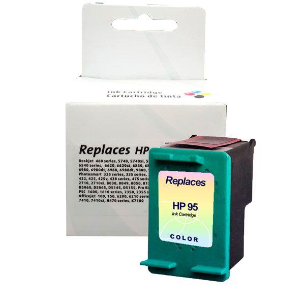 Compativel: Cartucho de tinta novasupri para HP 95 C8766W 14ML Colorido - 100 Mobile 460 2610 2710 5740 6520 6540