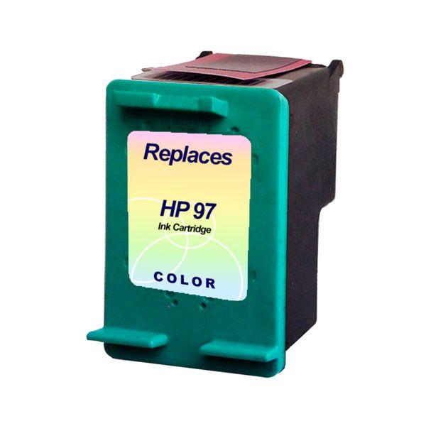 Compativel: Cartucho de tinta novasupri para HP 97 C9363W 14ML Colorido - 2610 2710 8050 8150 8450 8750