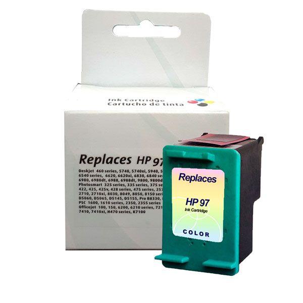 Compativel: Cartucho de tinta novasupri para HP 97 5740 5940 6520 6540 6620 6840 6940 6980 6988 7210 7310 7410 7210V 7210XI 7310XI 14ML