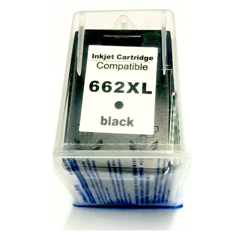 Compativel: Cartucho de tinta novasupri para HP 662XL CZ105A 11ML Preto