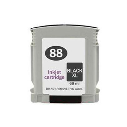 Compativel: Cartucho novasupri para HP 88XL 88 C9396AL para K550 K8600 K5400 Preto