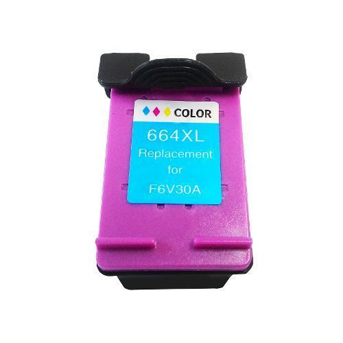 Compativel: Cartucho novasupri Tinta 664xl para HP 1115 2136 3636 3836 3536 4676 12ml Colorido