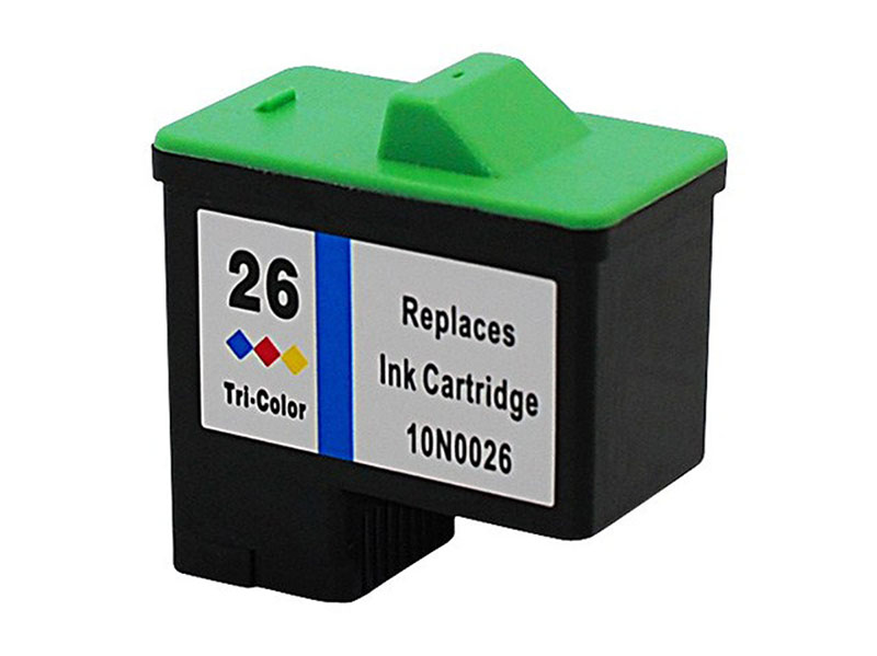 Compativel: Cartucho novasupri Tinta Lexmark 10N0026 9ML Colorido - X1155 X1250 X75 Z35 Z517 Z605 Z613 Z617