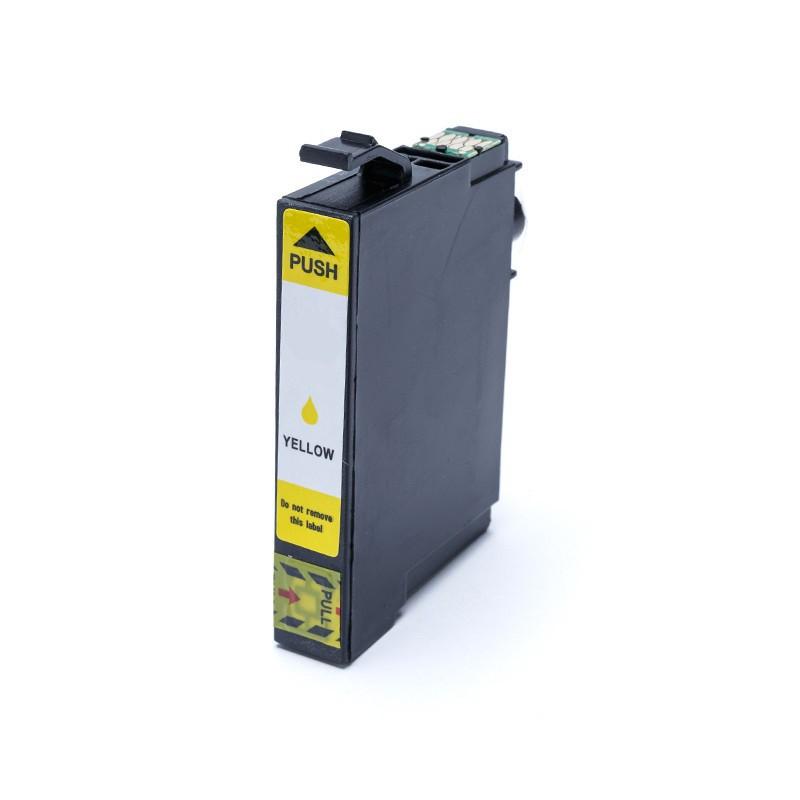 Compatível: Cartucho de tinta novasupri para Epson T1964 XP101 XP201 XP204 XP401 XP214 XP411 Amarelo 13.5ml