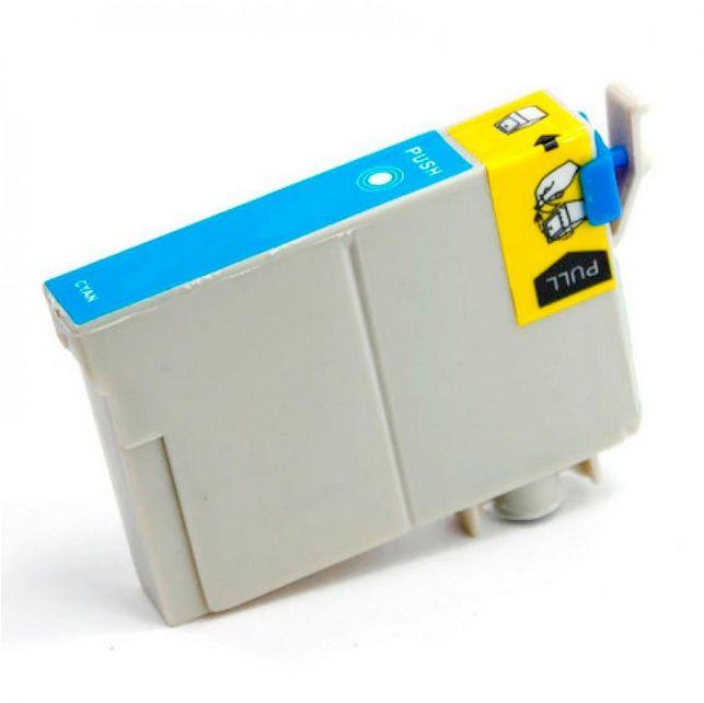 Compatível: Cartucho de tinta novasupri para Epson TO732 73N TO73220 C79 T33 C90 C92 C110 T10 T11 T20 T23 T24 T40W ciano 15ml