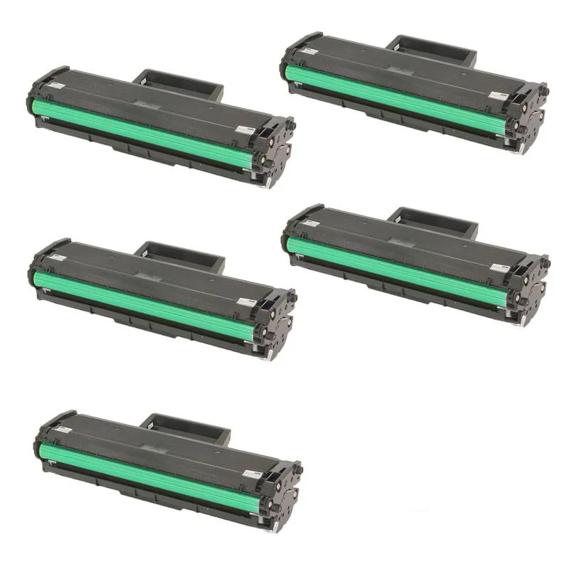 Compatível: Kit 5 Toner MLT- D111L - Samsung - M2020 M2020FW M2020W M2070 M2070FW M2070W