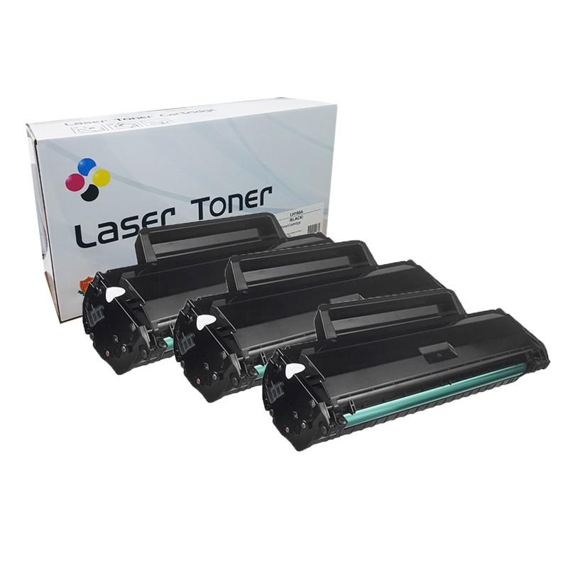 Compativel: Kit com 3 Toner novasupri 105A W1105A para HP 107A 107W 135A 135W 137fnw SEM CHIP 1K