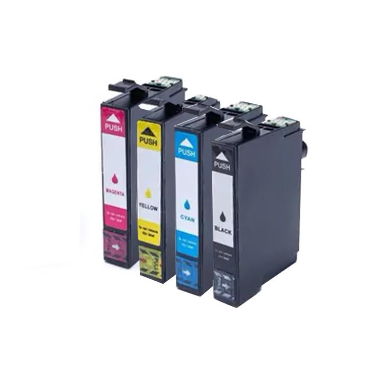 Compativel: KIT com 4 Cartucho de tinta novasupri para Epson T2971 T296 XP231 XP241 XP431 CMYK