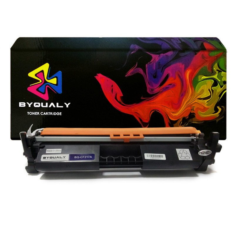 Compativel: Toner byquality para HP CF217A CF217 17A COM CHIP m102 m102A m102W m130 m130FW m130A m130nw m130fn