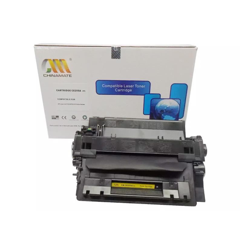 Compativel: Toner chinamate CE255A - 55A 500 para HP M525F P3015DN P3015X P3015N P3016 P3015