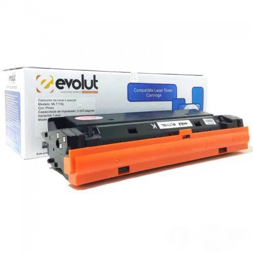 Compatível: Toner Evolut D116L 116 Samsung M2625 M2826 M2676 M2675F M2875FD M2825ND 2885 M2626ND M2835DW 3k