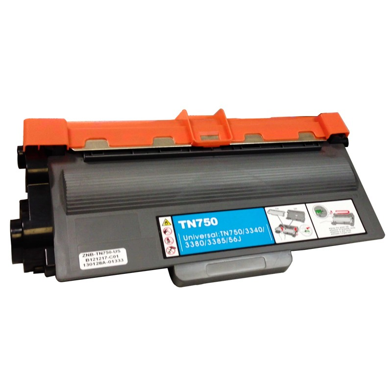 Compativel: Toner MC Brother TN750 HL 5450 5440 5445 5470 5472 6180 6182 DCP 8110 DCP 8112 8150