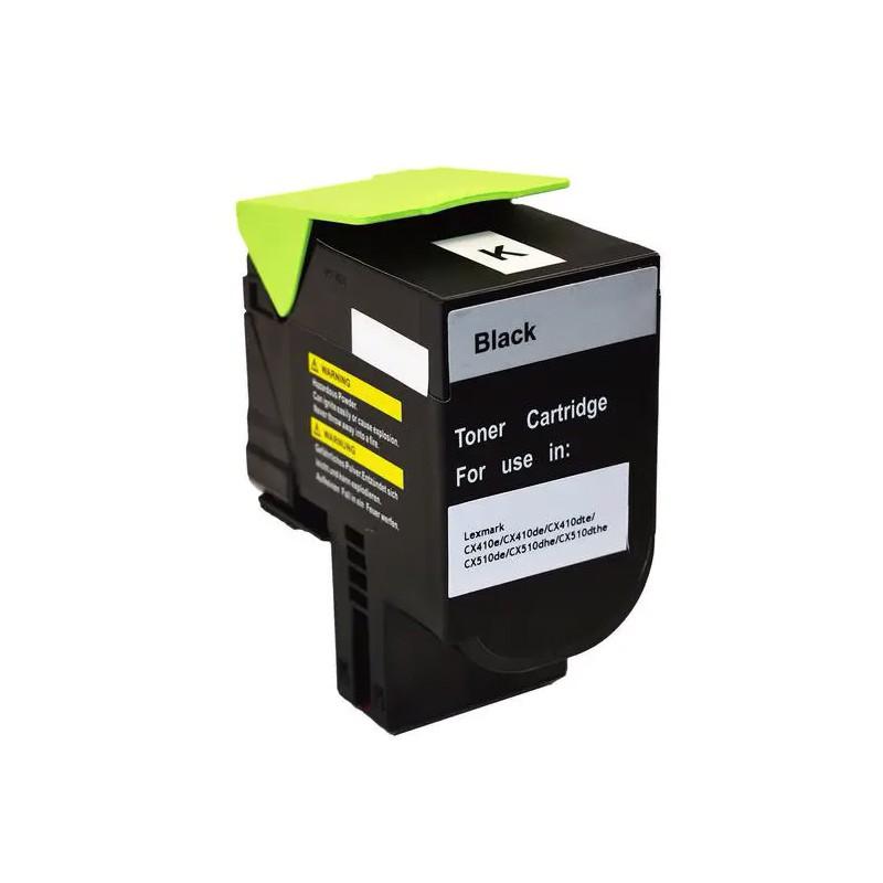 Compatível: Toner novasupri 808HK 80C8HK0 Lexmark CX 410 510 410e 410de 510dhe 510de preto 4k