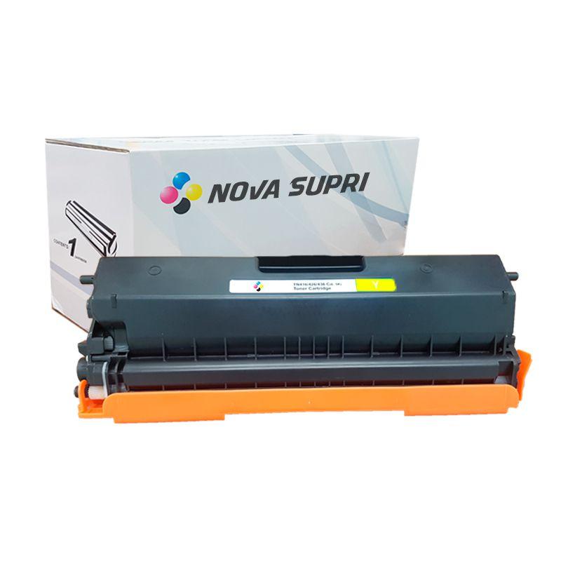 Compativel: Toner novasupri Brother TN419 TN419Y amarelo HL-L8360CDW MFC-L8610CDW MFC-L8900CDW MFC-L9570CDW 9K