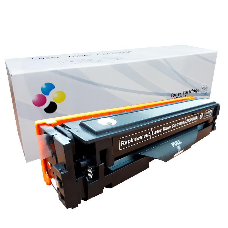 Compativel: Toner novasupri CF500 CF500X para HP M254 M280 M281 M281FDW M254DW Preto 3.2K
