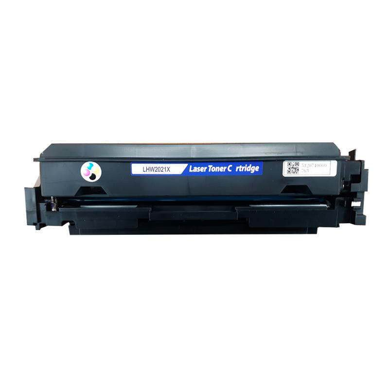 Compatível: Toner novasupri w2021X 414X para HP PRO 200 M454DW M454DN M479FDW M479DW M479FDN SEM CHIP Ciano 6K