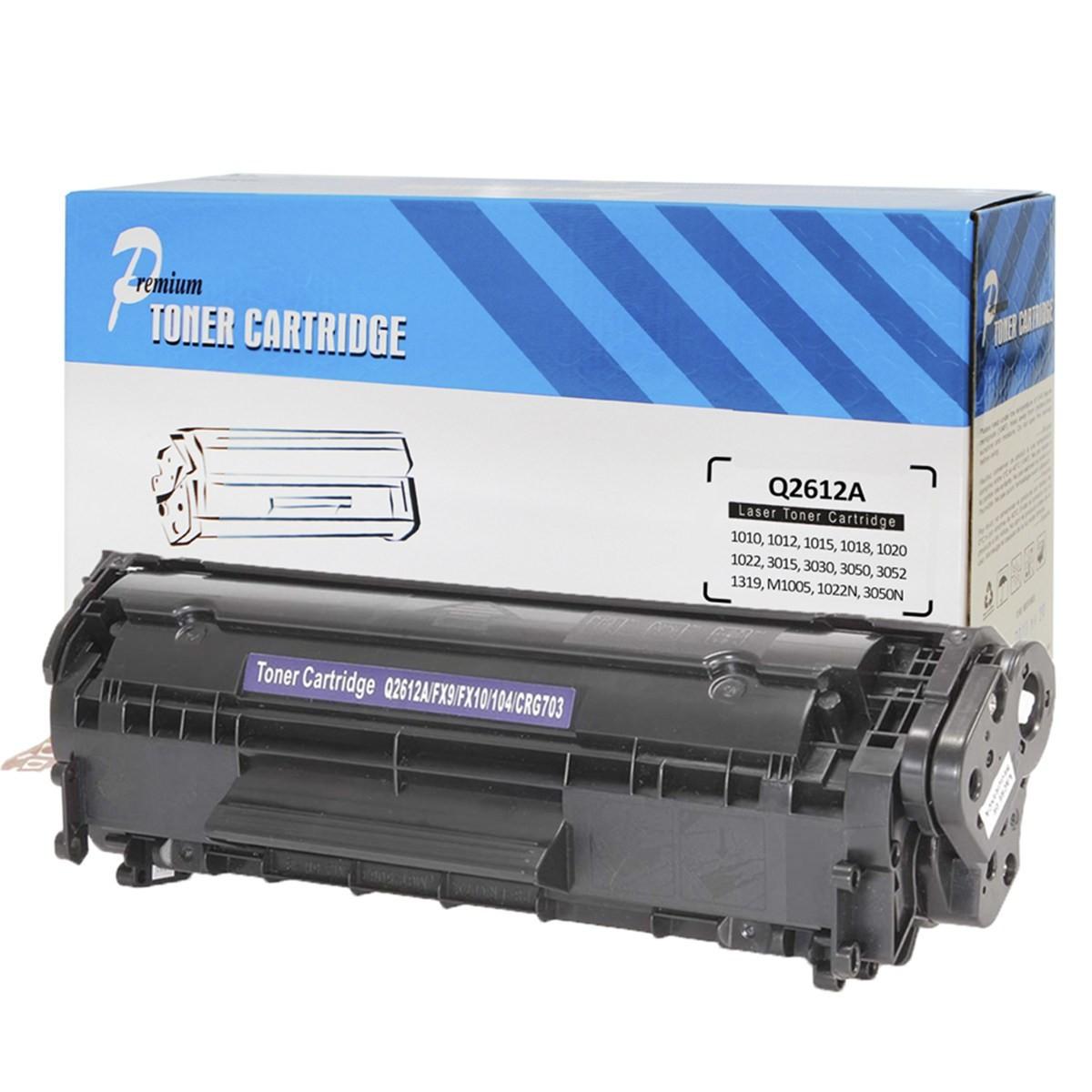 Compativel: Toner Premium Quality Q2612A M1005 1022N 3050N 3055N 1319F 3055NF M1319F 1022NW