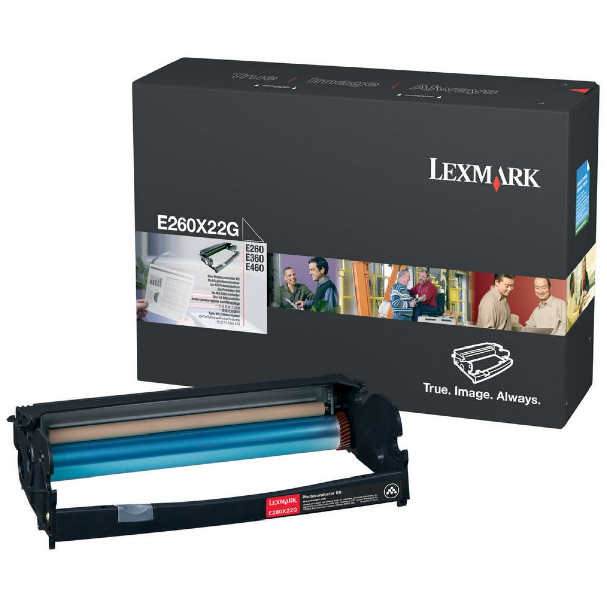 Compativel: Fotocondutor para  Lexmark E260X22G E260 E360 E460 X264 X364 X464 E260 Original