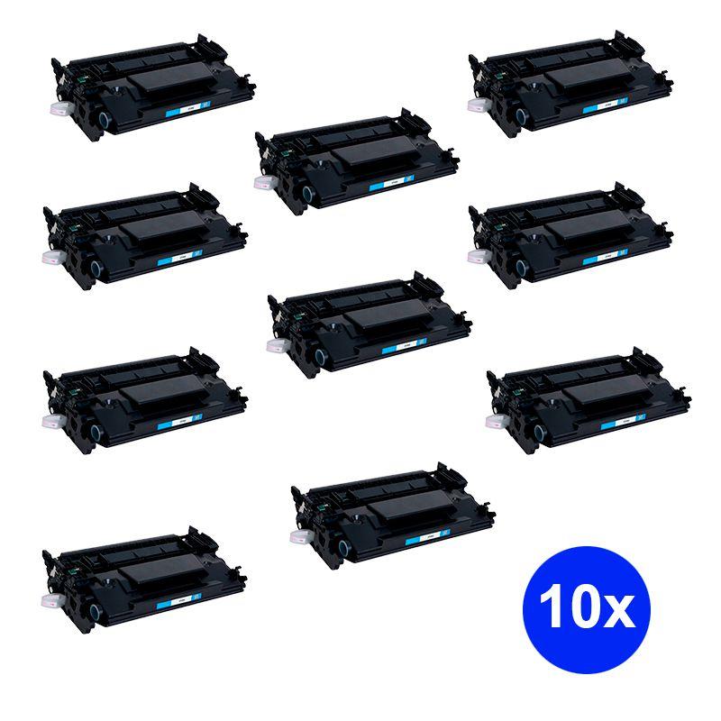 Compativel: Kit 10 Toner CF226X CF226 26X para HP M426FDW M426DW M402DN M402N H701