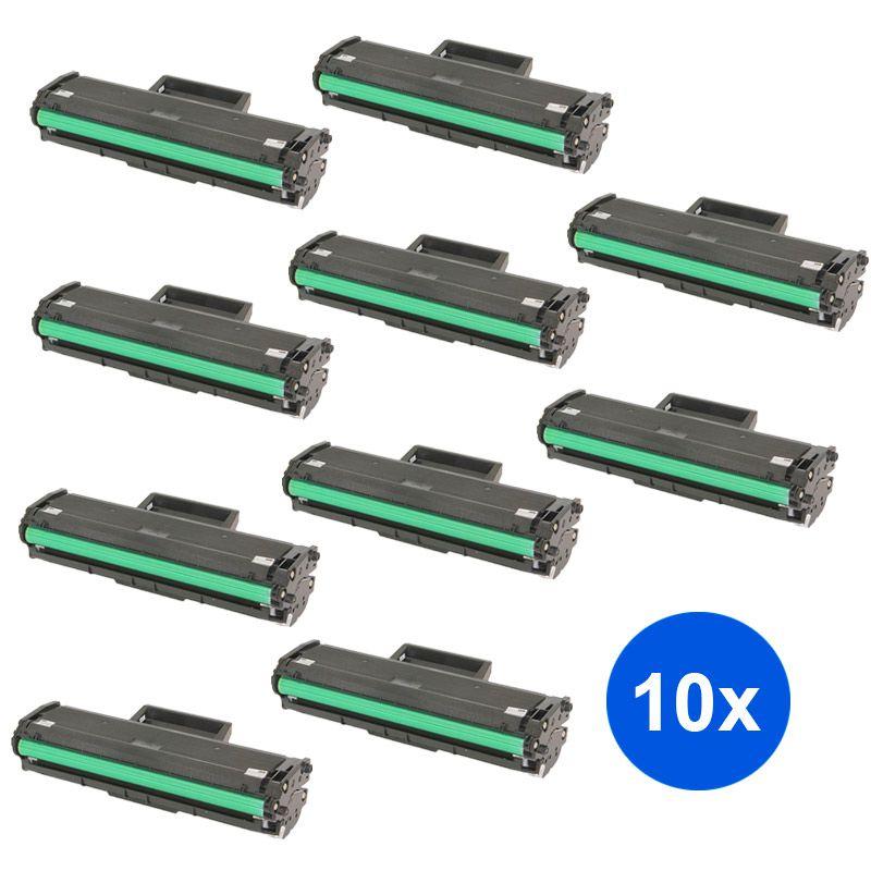 Compativel: Kit 10 Toner MLT- D111S - Samsung - M2020 M2020FW M2020W M2070 M2070FW M2070W