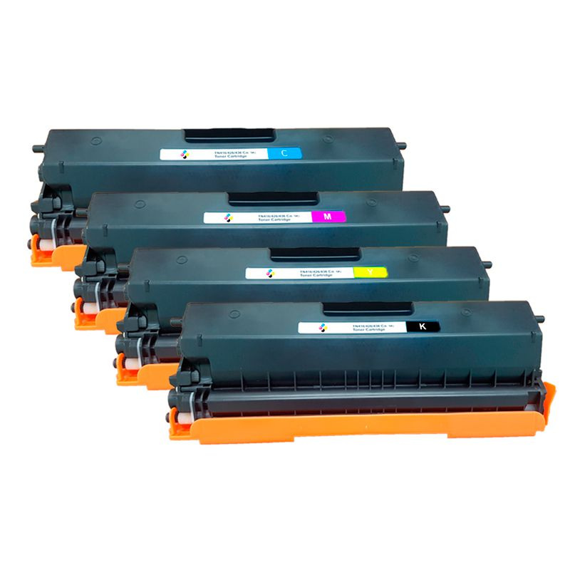 Compativel: Kit 4 Toner novasupri para Brother TN419 HL-L8360CDW MFC-L8610CDW MFC-L8900CDW MFC-L9570CDW
