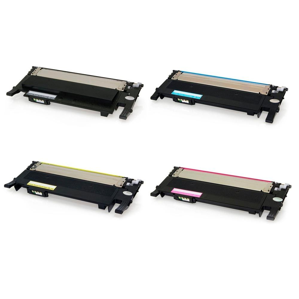 Compativel: Kit 4 Toner Samsung CLT-404S 404S C430 C430W C433W C480 C480W C480FN C480FW CMYK