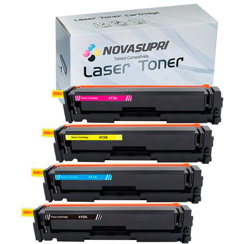 Compativel: Kit Toner CF410X 11X 12X 13X para HP M452DW M452DN M477FDW M477FNW M477FDN
