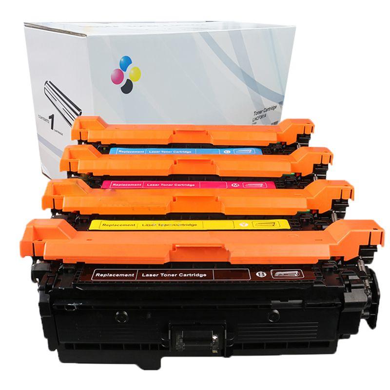 Compativel: Kit Toner CF360 CF361CF362 e CF363 para HP M552DN M553N M553X CMYK Compativeis