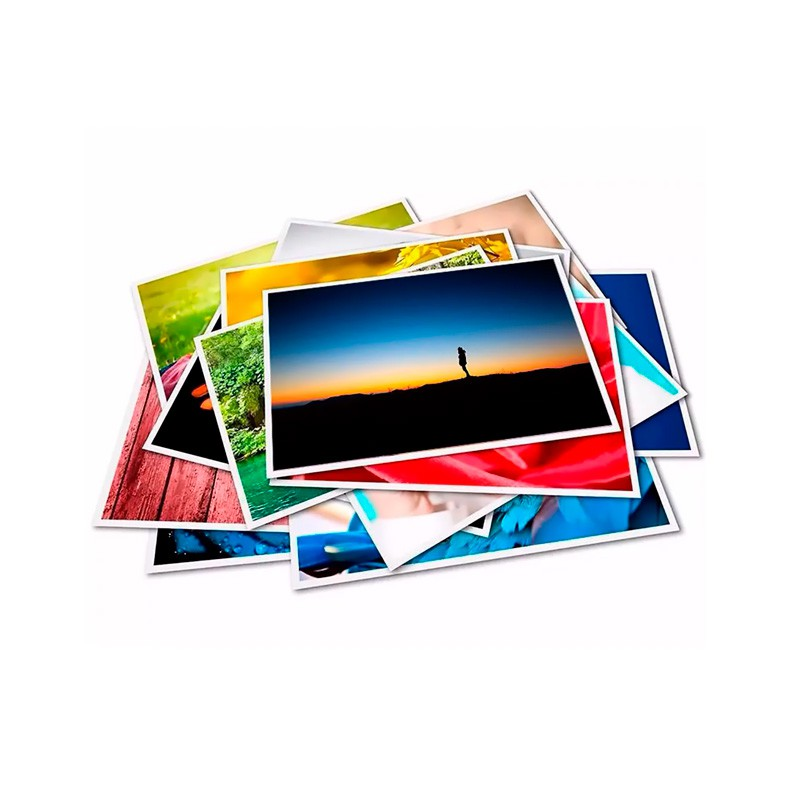 Papel Fotografico 10x15 Premium Glossy 265g 20 folhas