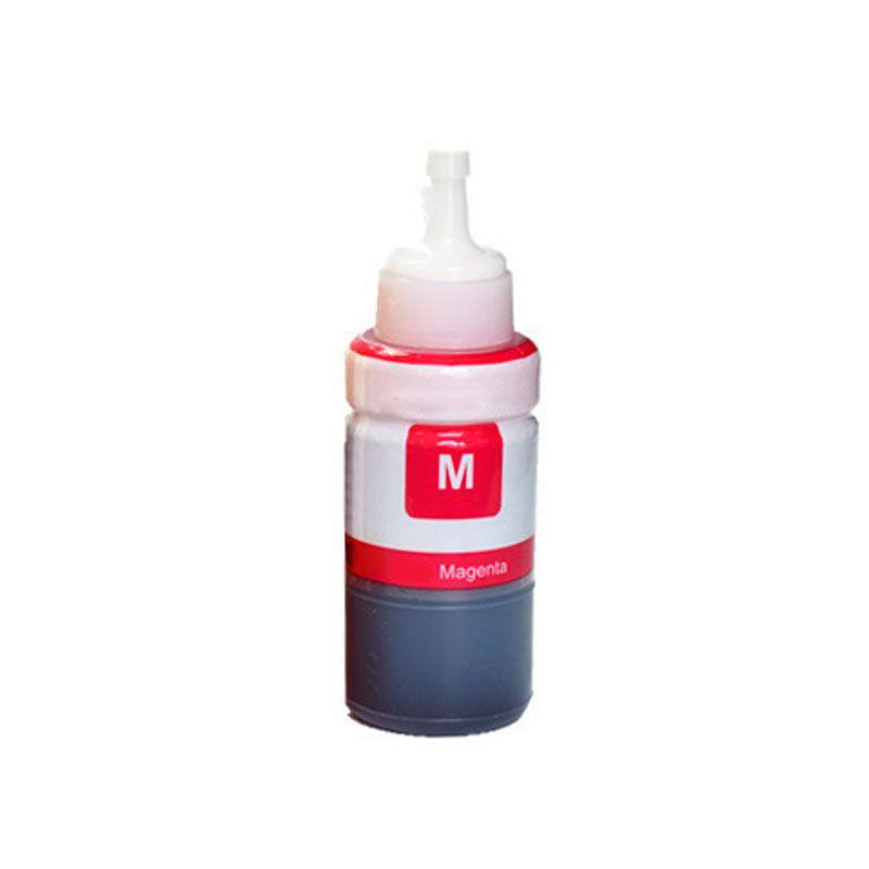 Refil Tinta Epson L110 L100 L120 L200 L220 L220 L4550 L355 L365 L375 L380 L395 T664320 70ml Magenta