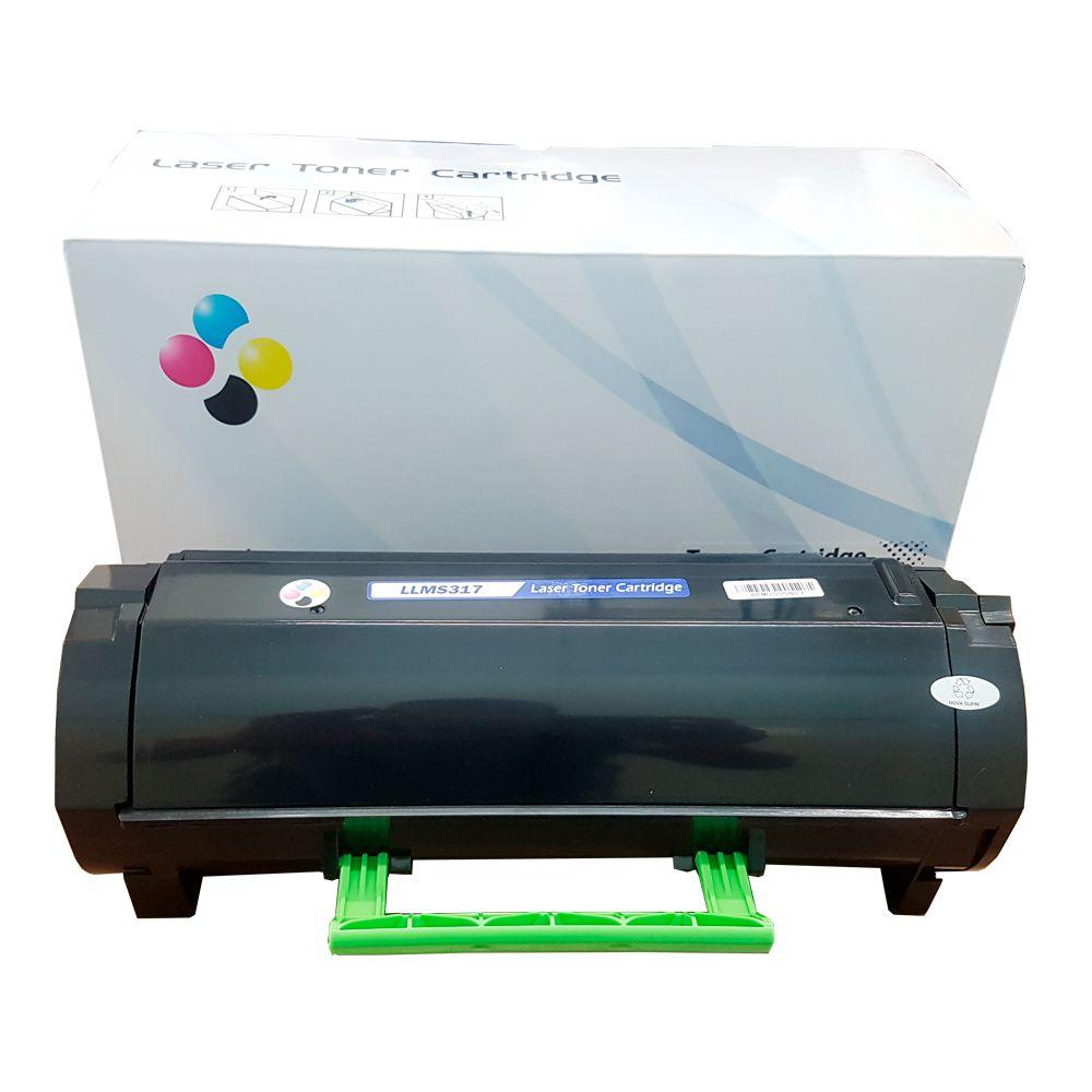 Compativel: Toner novasupri 51B4000 Lexmark MX317 MX417 MX517 MX617 MS317 MS417 MS517 2.5k