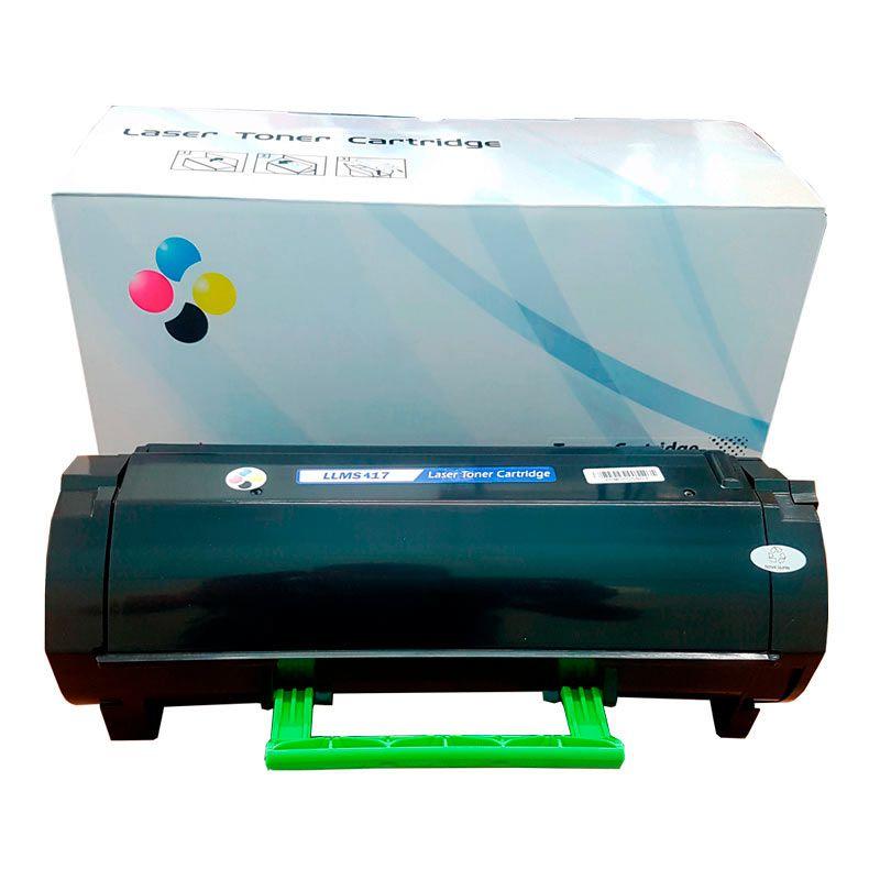 Compativel: Toner novasupri 51B4H00 51B4 MS417 MS517 MX417 MX517 417DN 517DN 417DE 517DE 8.5k