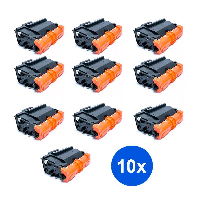 Compativel: Kit 10 Toner Brother TN3472 TN3470 TN880 L5102 L6202 DCP-L5502DN L5602DN MFC-L5902DN L6702DN 12k