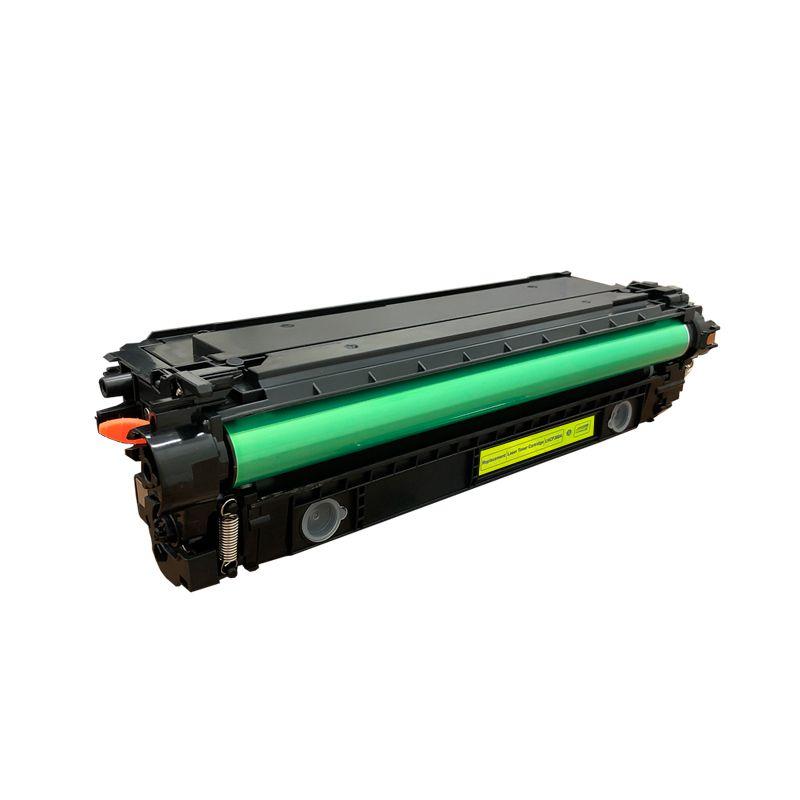 Compativel: Toner novasupri CF362A para HP 508A Amarelo M552DN M553N M553X 5k