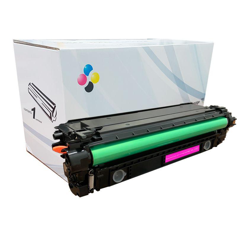 Compativel: Toner novasupri CF363A para HP 508A Magenta M552DN M553N M553X 5k