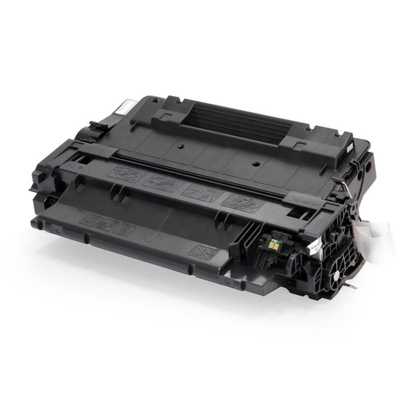 Compatível: Toner Novasupri P3015N P3015DN para HP P3015X CE255A 55A - Preto