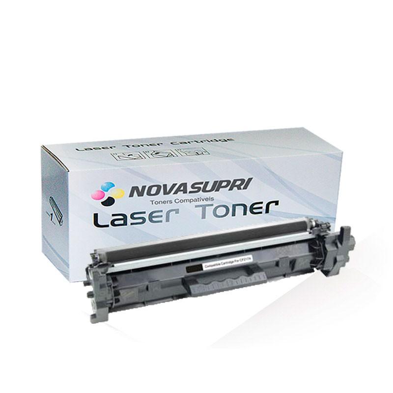 Compativel: Toner novasupri para HP CF217A CF217 17A COM CHIP m102 m102A m102W m130 m130FW m130A m130nw m130fn