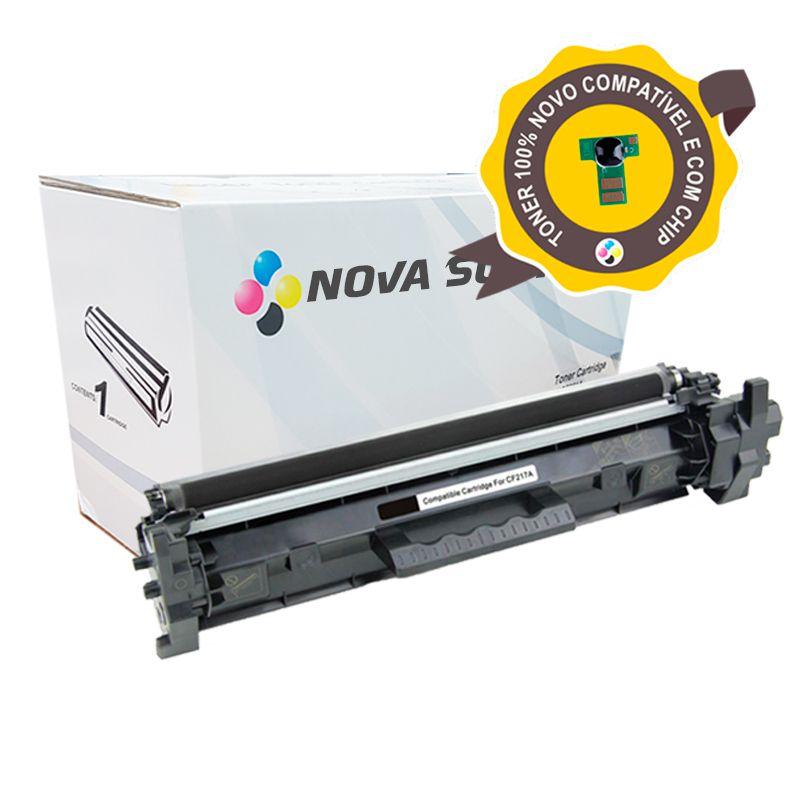 Compativel: Toner Novasupri para HP CF217A CF217 17A M102 M102A M102W M130 M130FW