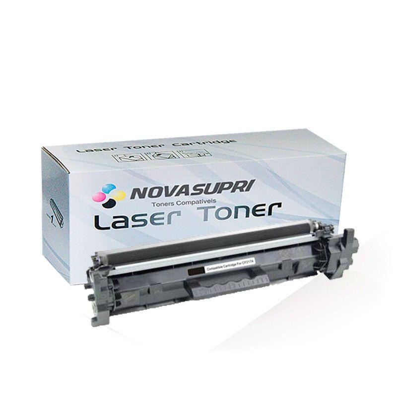 Compativel: Toner novasupri CF218A CF218 para HP 18A COM CHIP M132NW M132FN M132FW M132A M132SNW M104W