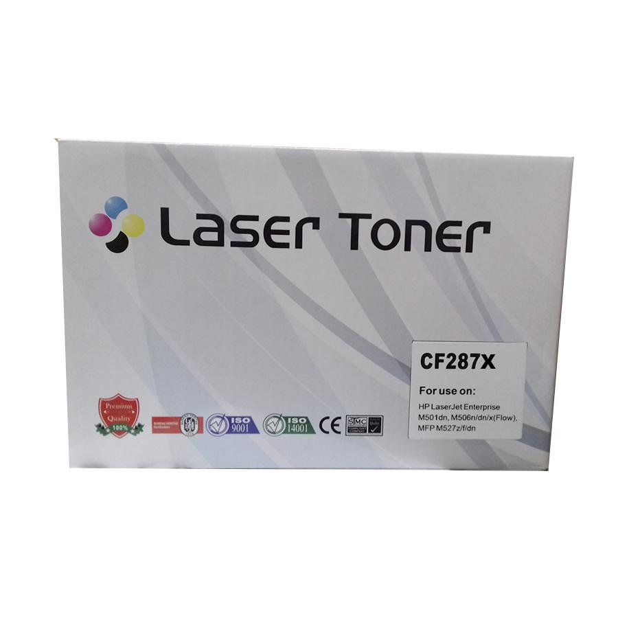 Compativel: Toner novasupri CF287x 287x 87x M506DN M527DN M506X M527C M527F para HP 18k