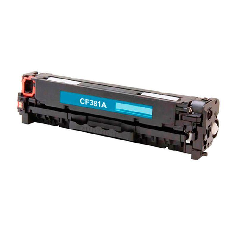 Compativel: Toner novasupri CF381 para HP 312A M476 M476NW M476DW Ciano