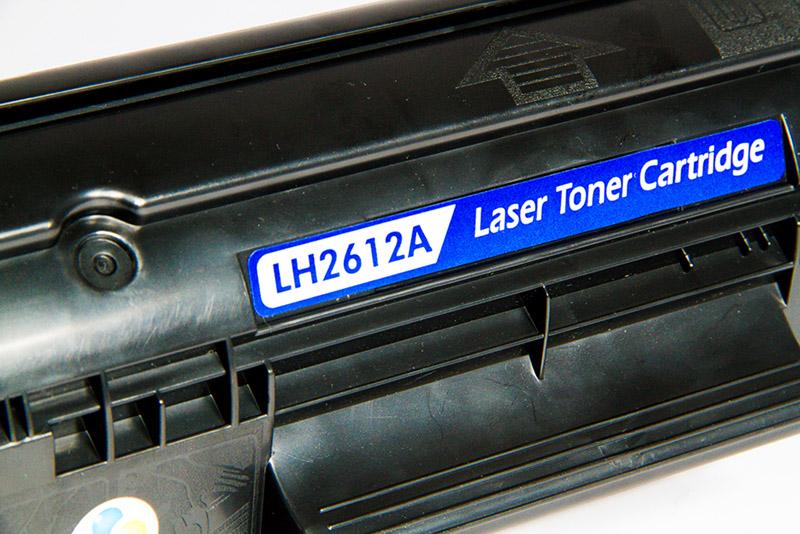 Compativel: Toner novasupri para HP Q2612A