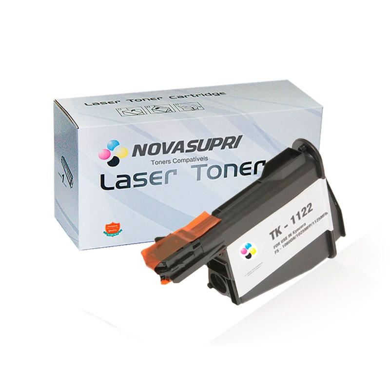 Compativel: Toner novasupri Kyocera TK1120 TK1122 TK1123 TK1124 FS1160 FS1025MFP FS1125MFP 2.3k
