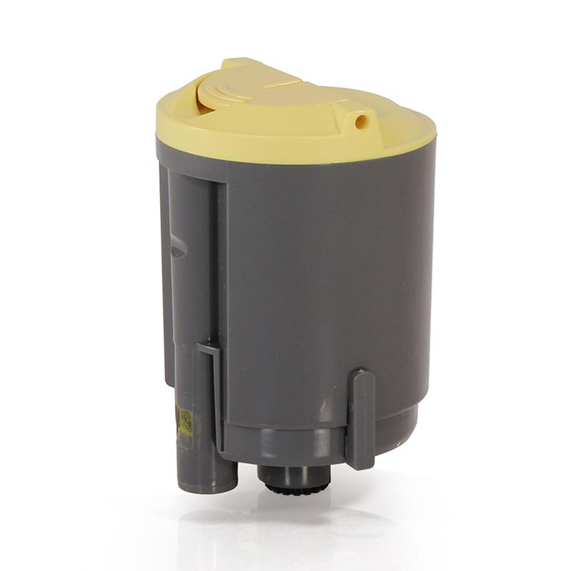 Compativel: Toner novasupri Samsung CLP C300 - CLP300 300N CLX2160 2160N 3160N 3160FN CLP-300 Amarelo